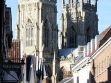 Image showing York Minster from a Street